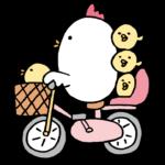 子供乗せ電動アシスト自転車は車体が低く長いものの方が安定し倒れ難い?