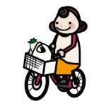 YAMAHAのPAS SION-Uはカゴが大きいので荷物が重くても何の問題もなく移動可能